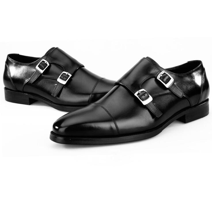 Noivo Qualidade Plana Vestido Homens 1 De Clássico Preto Homem Luxo Couro Oxford Sapatos Dos Do Casamento Novos Moda 2018 2 OUqIaWYPx