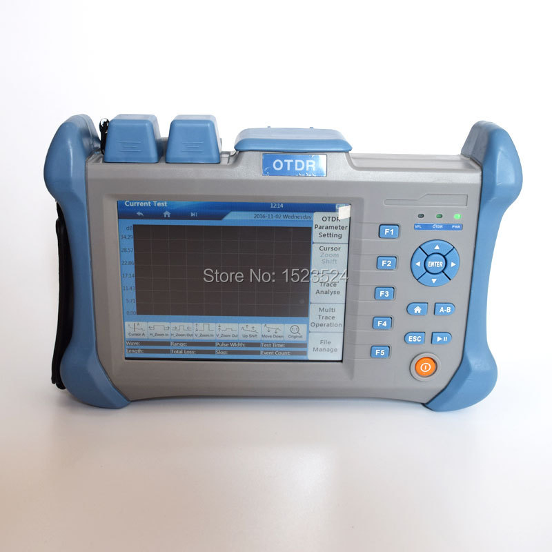 Multimode MM 850/1300nm 21/19dB Optical Time Domain Reflectometer Fiber Optic OTDR