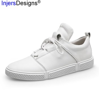 New Arrival Genuine Leather Casual Shoes Men Skateboarding Shoes Trainers Soft Moccasins Sneakers Men Plus Size 38-46 Mocasines