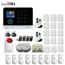 SmartYIBA 433MHz Wireless WIFI 3G Business&Home Security Alarm System Infrared Motion Sensor Door Magnetism Alert APP Control