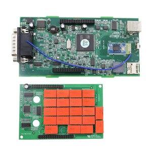 Image 4 - Multidiag pro Double carte pcb verte TCS PRO Bluetooth 2015.r3 keygen logiciel 2019 outil de diagnostic de voiture chaude 10 pièces/lot DHL gratuit