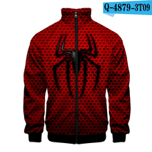Spiderman Far From Home Zipper Hoodie Harajuku Peter Parker Marvel Oversized Jacket Long Sleeve 3D Clothing Printed Movie Jacket