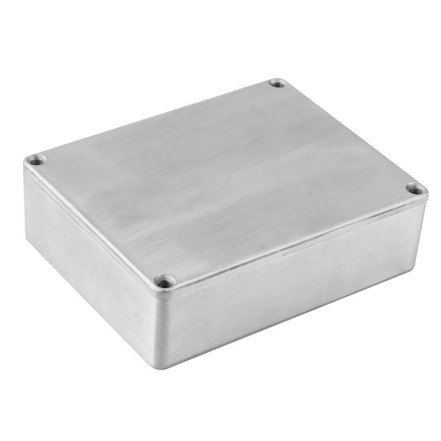 Top Selling 1590BB Style Effects Pedal Aluminum Stomp Box Enclosure for Guitar Instrument Cases Storage Holder