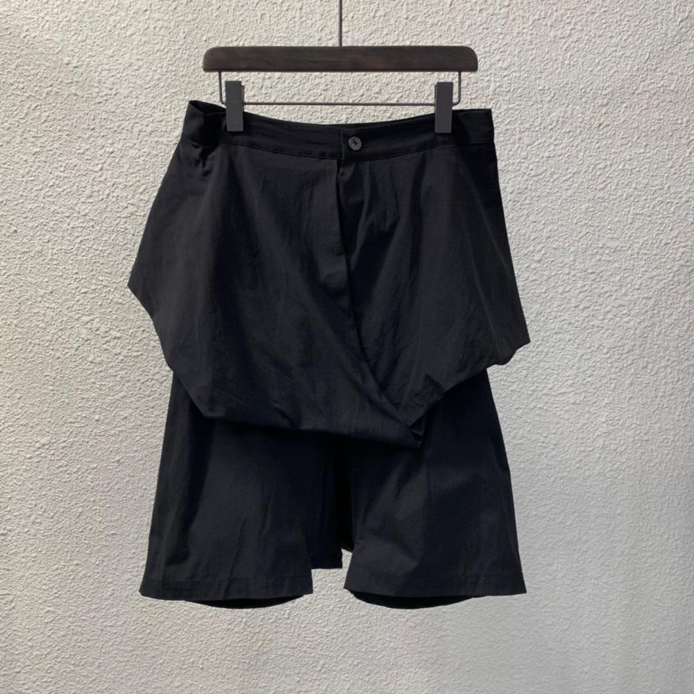 Шорты-шаровары Owen Seak мужские, повседневные, водонепроницаемые, в готическом стиле, спортивные штаны, летние, женские, свободные, черные, разм...