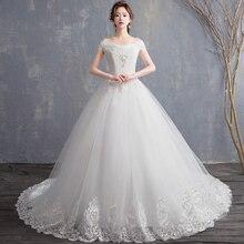 Fansmile 새로운 로브 드 Mariage 2020 저렴한 웨딩 드레스 중국 Vestidos 드 Novias 신부 공 웨딩 드레스 FSM 626F