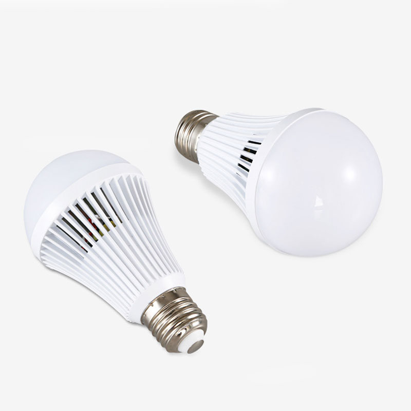 new led e27 energy saving rechargeable intelligent light bulb lamp emergency lights portable LED Beam Energy Saving Intelligent Emergency Lamp Bulb 12W Light Home 1200lm
