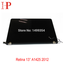 100 Genuine New A1425 LCD Screen Assembly For Apple Macbook Pro 13 Retina A1425 LCD Assembly