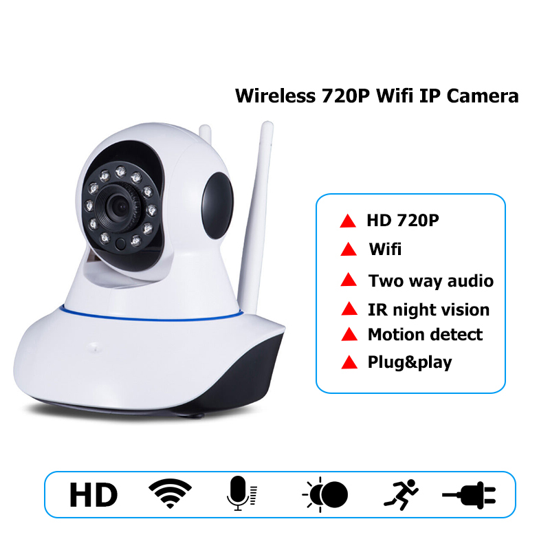 720P Security Network CCTV wifi camera Wireless 1.0 Megapixel HD Digital Security ip camera IR Infrared Night Vision local alarm 720p security network cctv wifi camera wireless 1 0 megapixel hd digital security ip camera ir infrared night vision local alarm