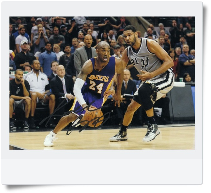 signed Kobe Bryant autographed  original photo 7  inches free shipping 08201709 signed kobe bryant autographed original photo 7 inches free shipping 08201709