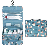 Portable Hanging Toiletry Bathroom Bag Maquillage Cosmetic Makeup Organizer Storage Pouch For Women Lady