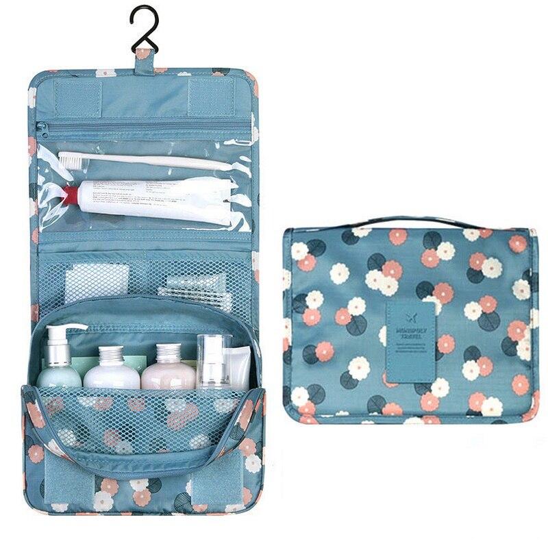 Bärbara Badrum Hängande Toalettsaker Väska Makeup Organizer - Hemlagring och organisation