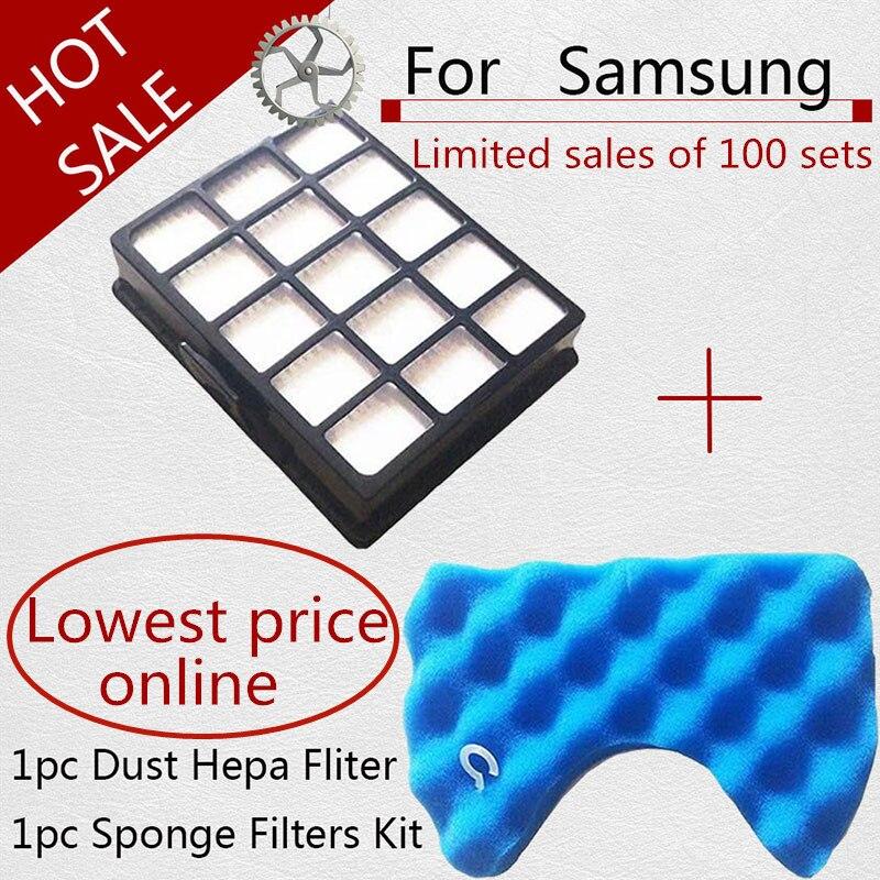 Vacuum Cleaner Filter Spare Parts Set Sponge Filters For Samsung Dj97-00492A PT