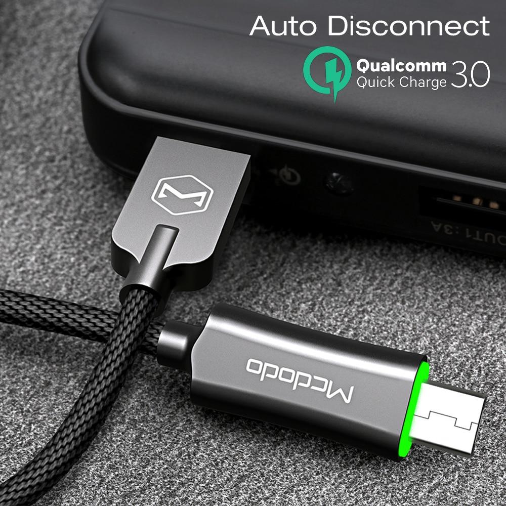 Kabel Mcdodo Micro USB do Samsung Xiaomi Huawei szybkie