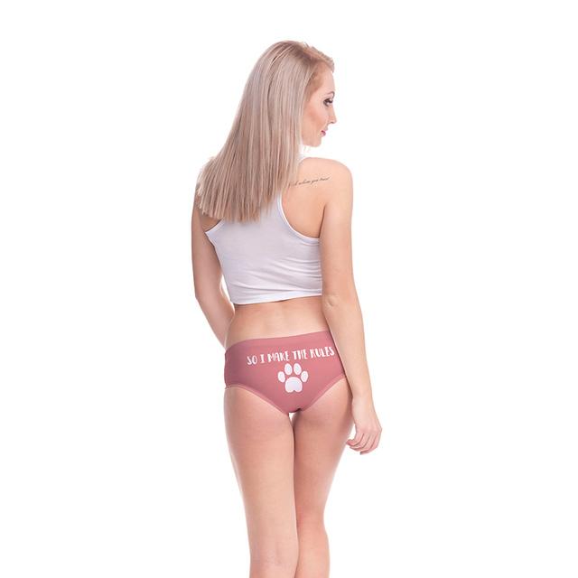 Women's Cat Patterned Panties