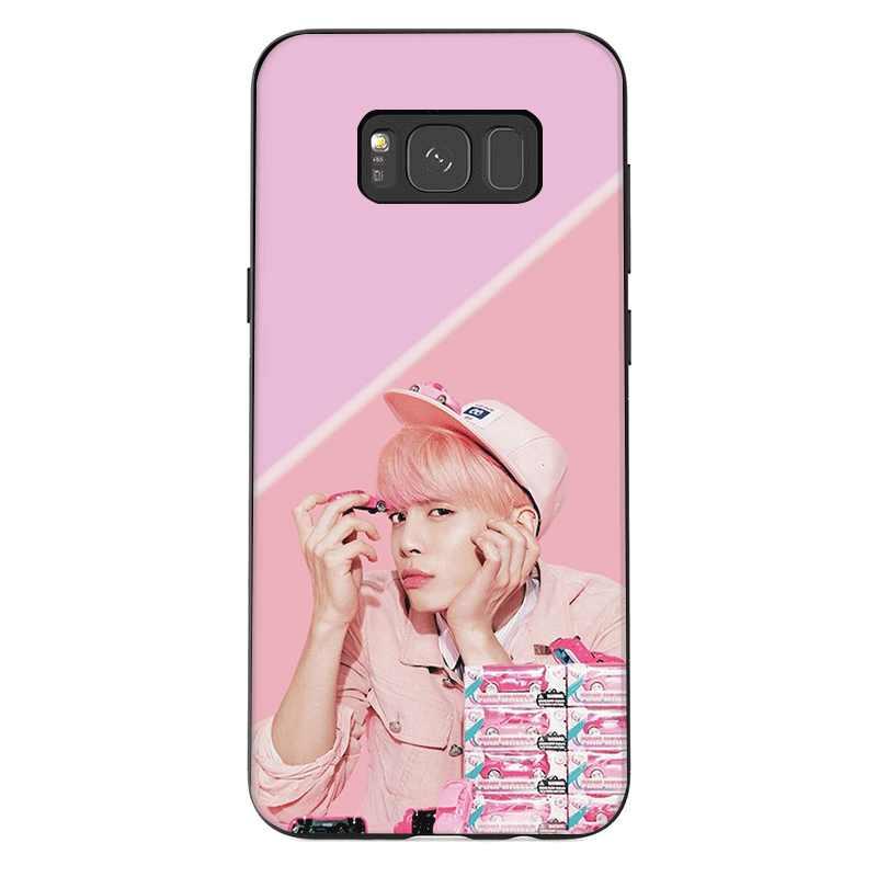 ซิลิโคนโทรศัพท์กรณีสำหรับ Samsung A70 A50 A60 A40 A30 A20 A10 A9 A8 A7 A6 A5 A3 J6 ฝาครอบ JONGHYUN SHINEE Shell Casing