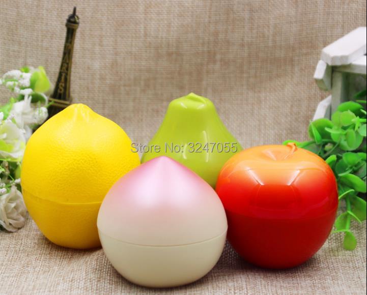 30G 10pcs30pcs/Lot Cute Lovely Empty Plastic Cosmetic Cream Container, DIY Colored Creative Portable Travel Facilal Cream Jar