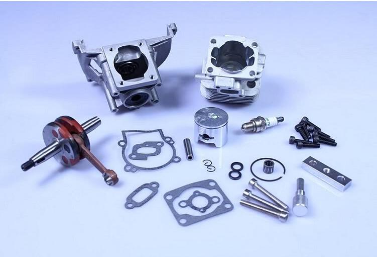 rovan 4 bolt 30.5cc engine bigbore kit, rc baja baja engine 30 5cc big bore upgrade kit 2 change 4 bolt for rovan baja engine