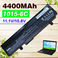 4400mAh Black battery for Asus EEE PC 1011 1015 1016 1215 1015b 1015p A32-1015  A31-1015  AL31-1015  AL32-1015