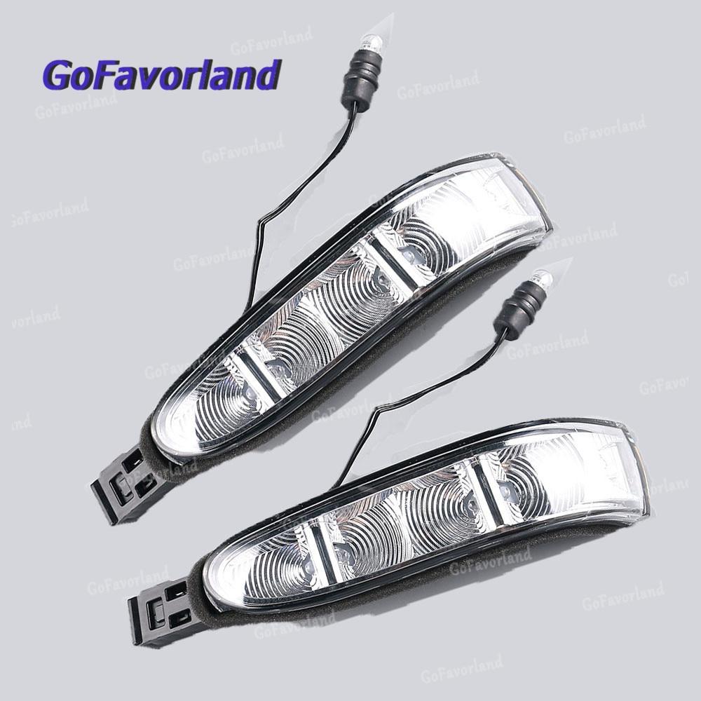 Left Door Mirror Turn Signal Light 1648200521 For Mercedes W164 W251 ML320 R350