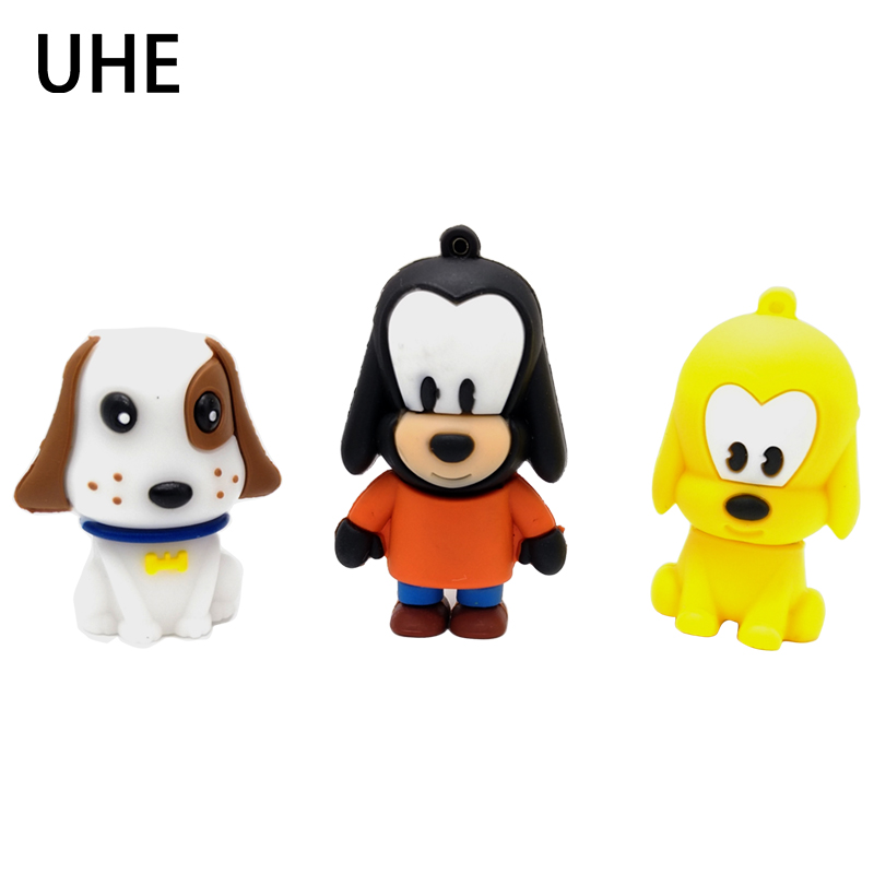 Cartoon Pet Dog Usb Flash Drive Pendrive 4gb 8gb 16gb 32gb Memory Stick Usb Stick Cute Pen Drive Personalized Mini Gift External Storage Computer & Office