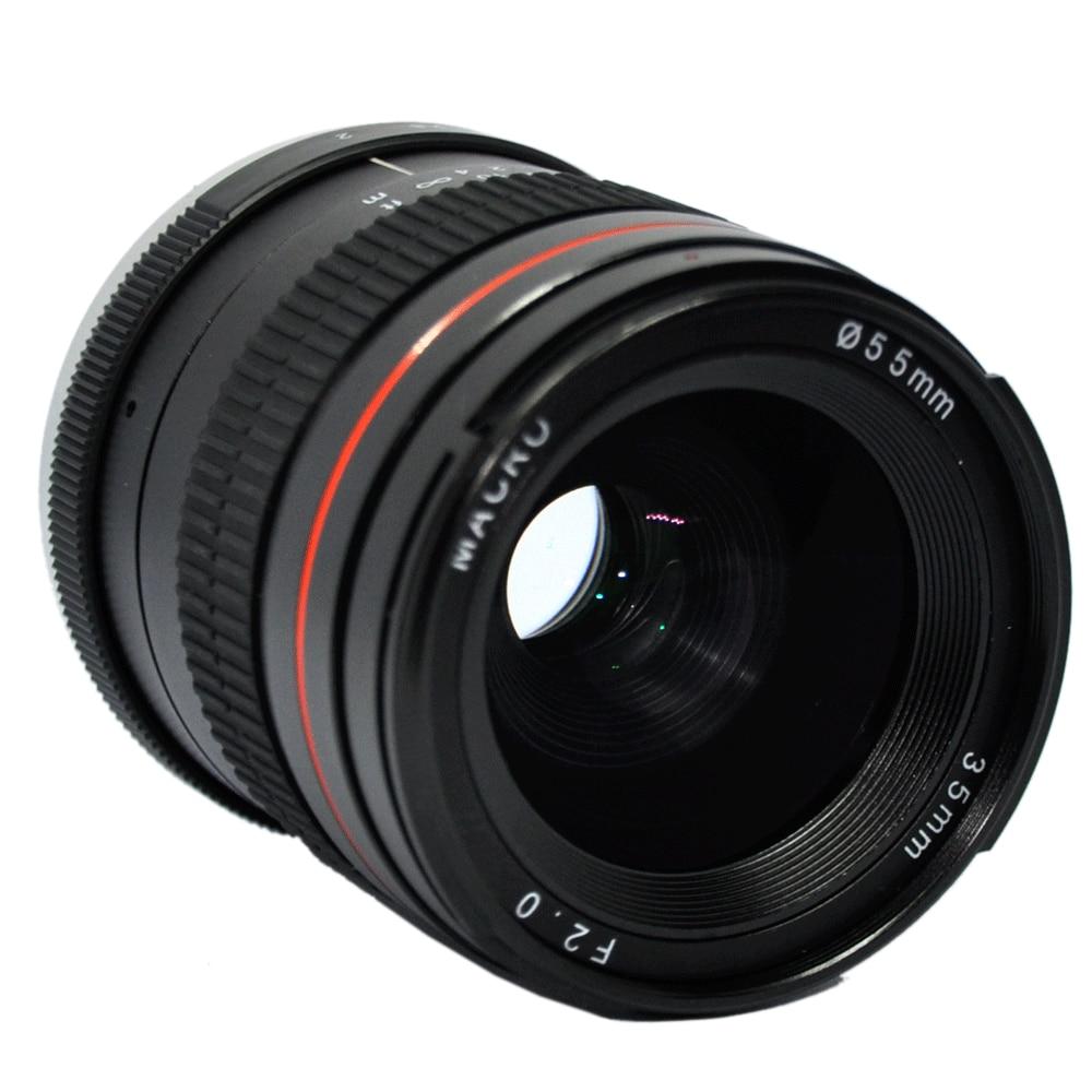 JINTU 35mm F 2 0 22 Portrait Prime Fixed Lens for Canon EOS 760D 800D 77D