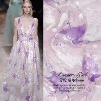 Super Pre Silk Fabrics The Mulberry Silk Fabrics Burnt Out Xiao Pink Jacquard Silk Wedding Dresses