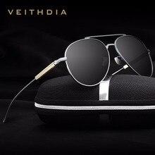 2017 New Arrival VEITHDIA Vintage Pilot Fashion Brand Designer Male Sunglasses Men/Women Sun Glasses gafas oculos de sol VT6696