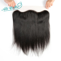 Ali Grace Hair Brazilian Straight Lace Frontal Closure 13 4 Free Part Ear To Ear Lace