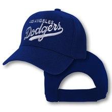 f2741067bd2a9 Los Angeles Dodgers sombrero bordado LA hombres ajustable curva escribiendo  gorra de béisbol de las mujeres