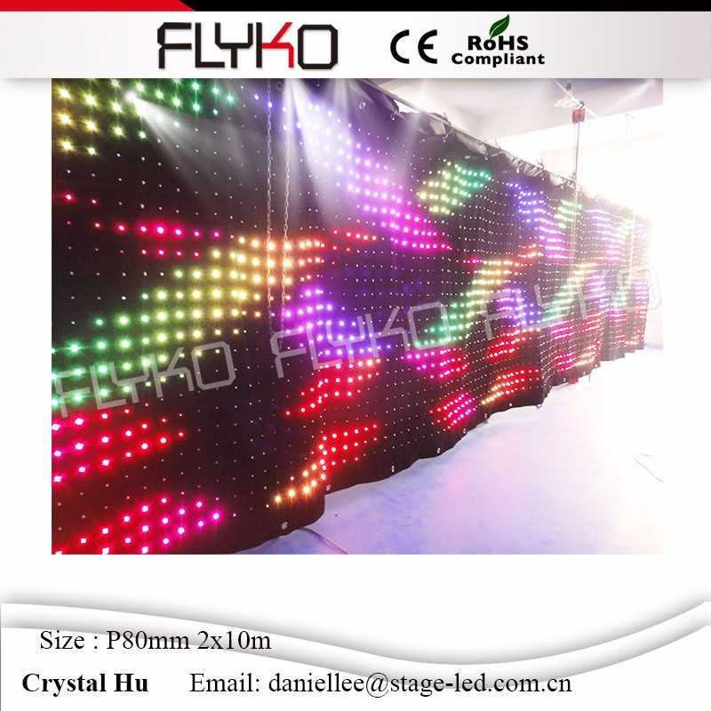 LED video curtain78