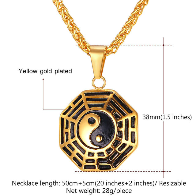 Online Shop Chinese Taoism Sign Ancient Eight Diagrams Pendant