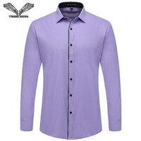 Korean Men S Business Shirts 2015 Autumn New Arrivals Fashion Cotton Male Shirt High Quality Long