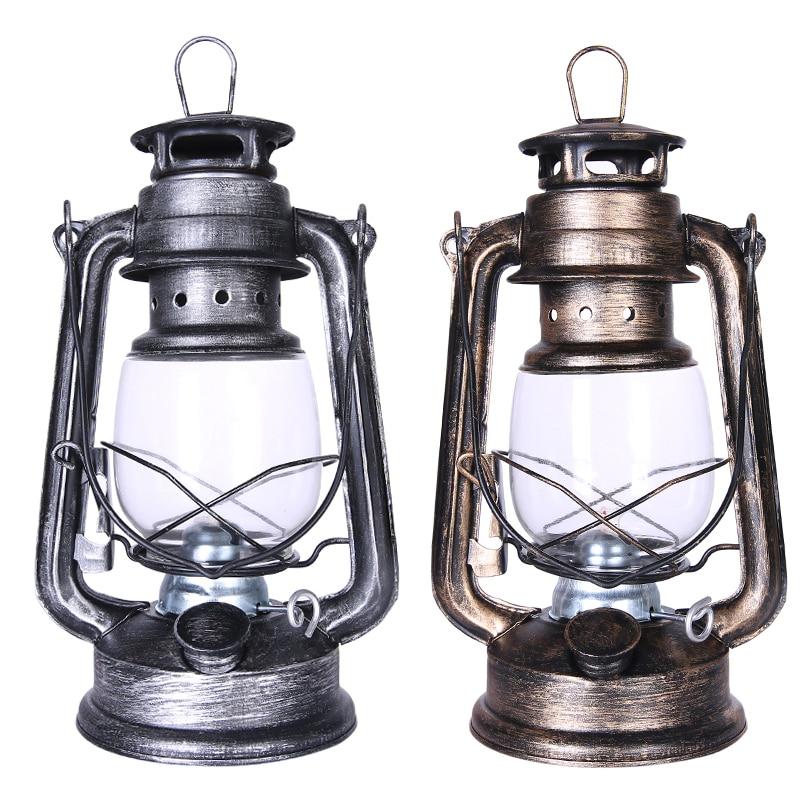 25cm Oil Lamp High Brightness Large Capacity 2019 Vintage Style Kerosene Lamp Light For Bar Coffee Shop