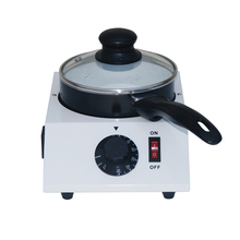 ITOP Single Pan Mini Chocolate Melting Machine, chocolate tempering Cylinder, chocolate melter stove 16*8 Inner Pan small chocolate candy coating machine sugar coated pan