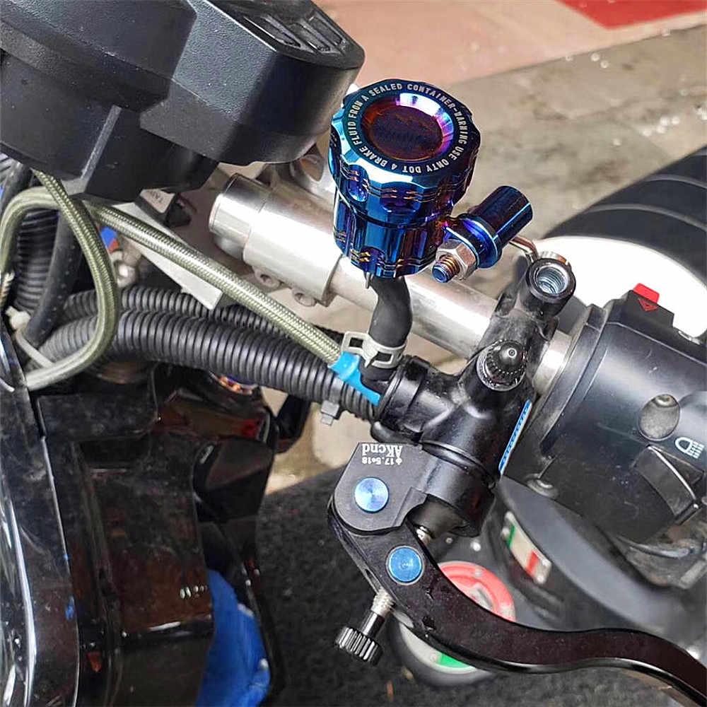 オートバイオイル流体タンクカップとブラケットブレーキマスターシリンダーブレーキポンプ Adelin ホンダヤマハカワサキスズキ用