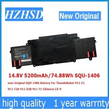 14.8V/14.4V 5200mAh/74.88Wh SQU-1406 new Original Battery For ThundeRobot 911-E1 911-T2A 911-S2B 911-T1 Chimera CX-9 фото