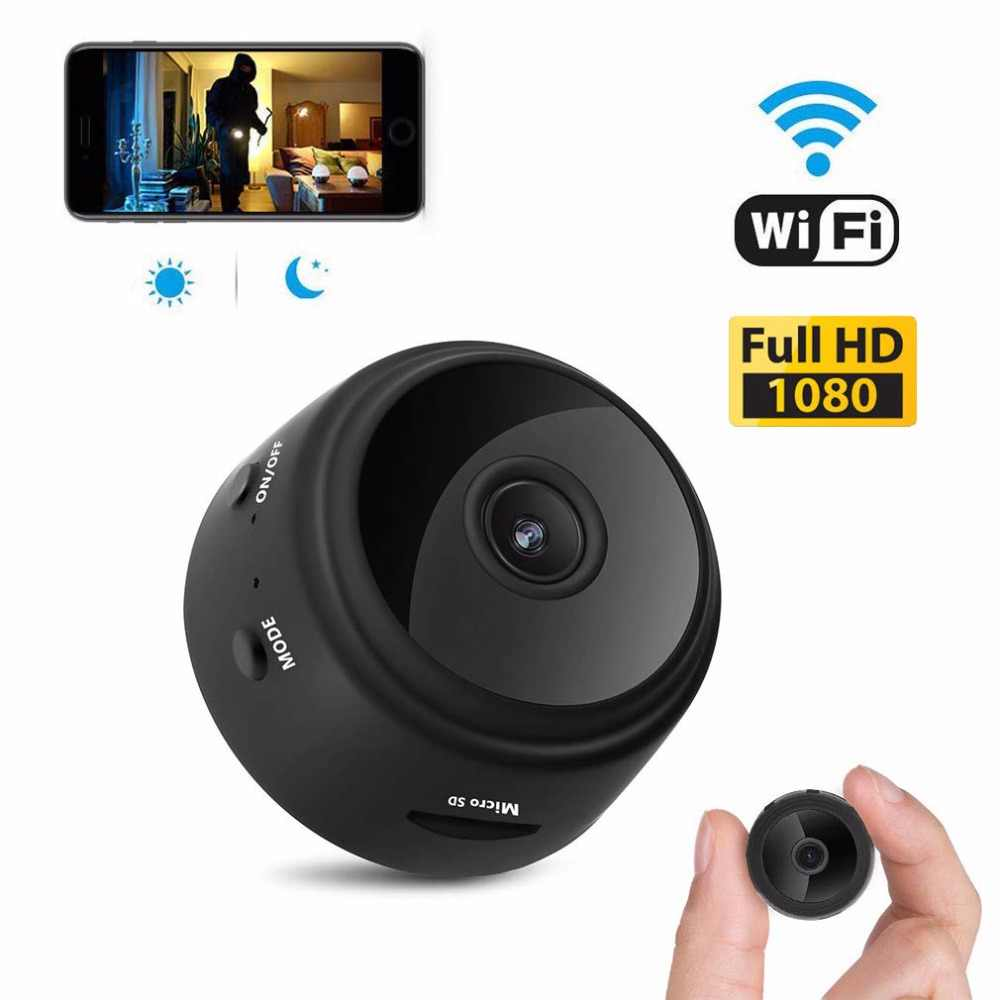 Micro WIFI Mini Camera 1080P With Smartphone App And Night Vision IP Home Security Video Cam Bike Body DV support hidden TF card