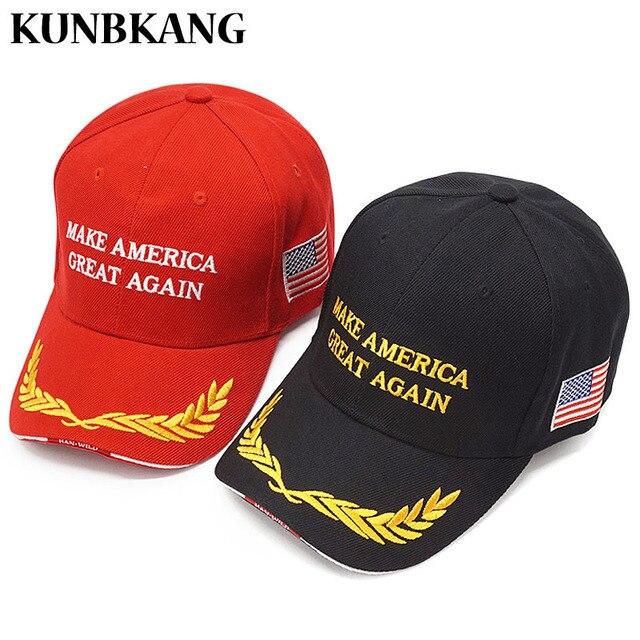692916056f8 High Quality Make America Great Again Hat Donald Trump Cap Men Embroidery  USA Flag Snapback Dad Hats Army Tactical Baseball Cap