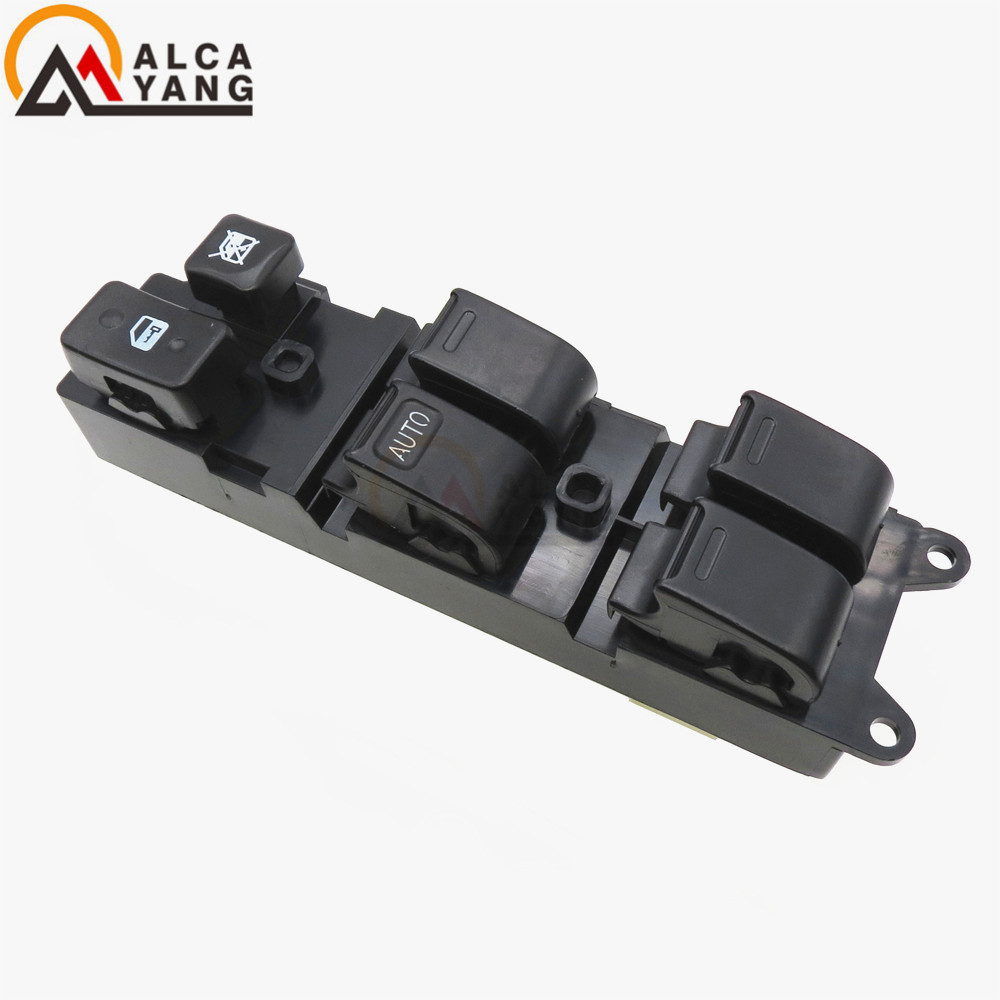 84820-35010 8482035010 Front Left Power Window Lifter Switch For Toyota Carina E Hilux 4Runner Truck Land Cruiser Lexus LX450 dooya dc1653 wall switch 15 channel emitter remote controller for electric curtain motor curtain accessories for kt320e dt52e