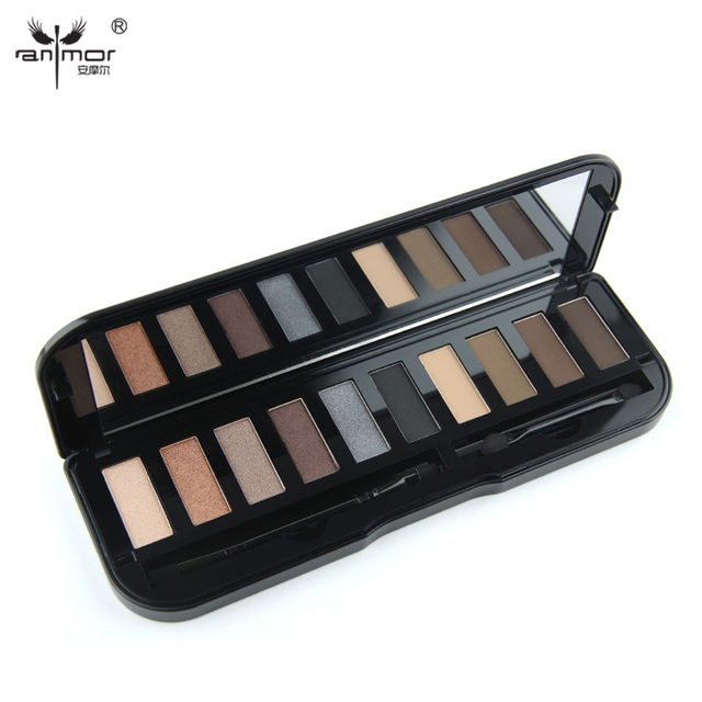 New High Quality 10 Color Eyeshadow Makeup Palette With Luminous and Matte for Choosing C1 C5