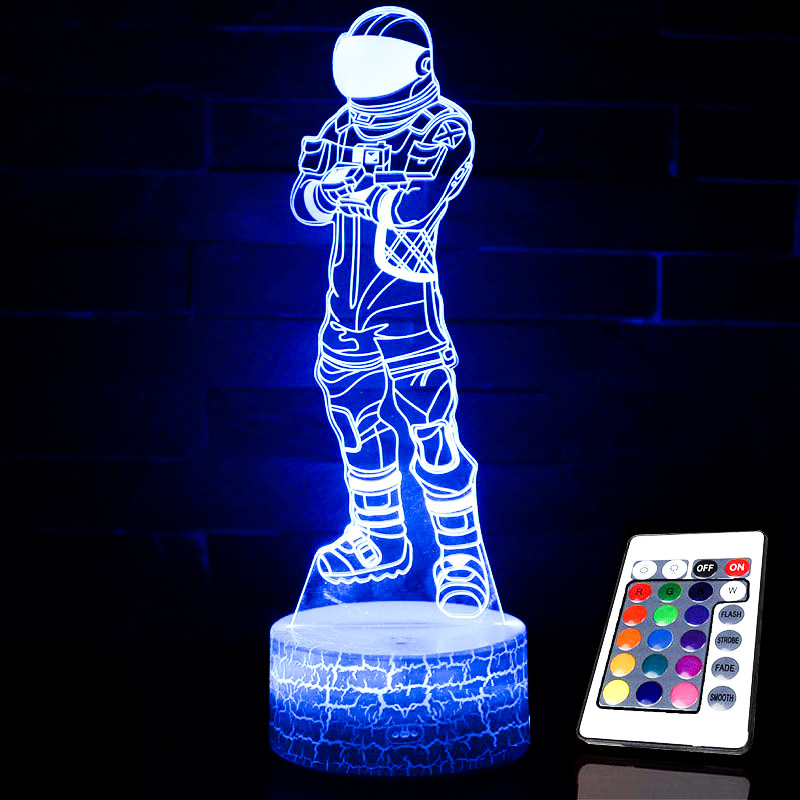 Action Figures FORTNIGHT NightLight Sleep Light Projection Lamp Fort Night Battle Royale Accessories Children Toys Gifts