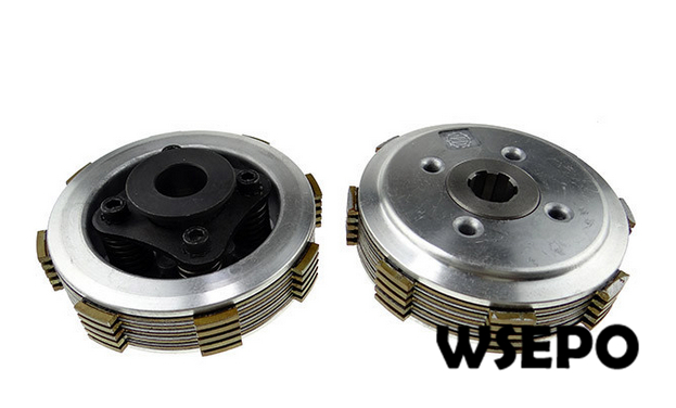 OEM Quality! 8 Teeth Clutch Plate Comp for 178F/186F/L70/L100/188F Diesel Engine Powered Cultivator/Garden Tillers