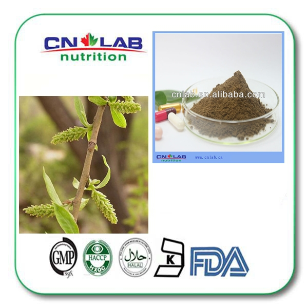 1kg 98% white willow bark extract salicin supplement