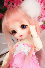 Boneca bjd 1/8 boneca elf boneca conjunta olhos livres