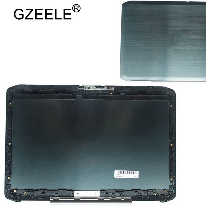 Dell Latitude E6440 Laptop LCD Top Back Cover M16D4 Silver LED w// Hinges Grade B