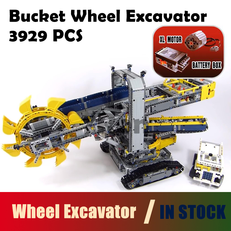 Model building toys hobbies 20015 3929Pcs Compatible With lego Technic 42055 Bucket Whee ...