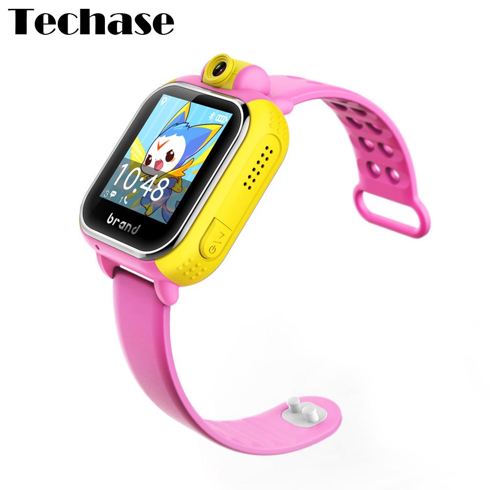 Prix pour JM08 Smart Bébé Montre Enfants Smartwatch Android GPS Tracker Montre Pour Enfants SOS Dispositifs Portables 3G de Bande Dessinée-montre 720 P Caméra