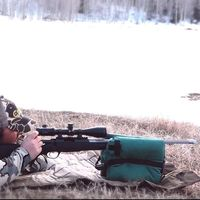 New Outdoors Portable Shooting Rear Gun Rest Bag Set RearTarget Hunting Bench Unfilled Stand Hunting Gun