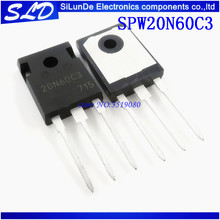 Free Shipping 10pcs/lot SPW20N60C3 20N60C3 TO 247  new and Original IN STOCK