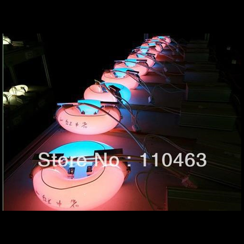 Induction grow light for hydroponics and greenhouse 200W AC110V 240V spot lamps round induction grow light